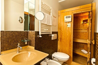 Sauna Junior Suite Assisi Hotel Dal Moro