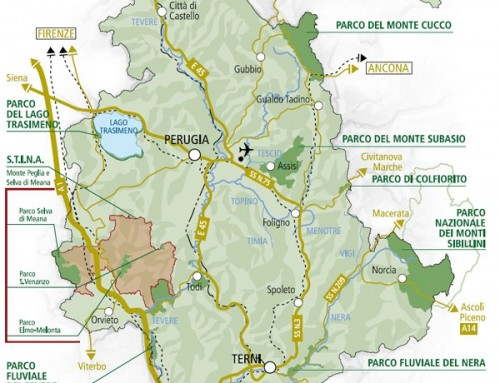 Umbria Parks: guide to biodiversity 4